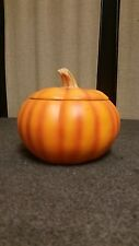 Ceramic Pumpkin From Teleflora Good for Candy Dish