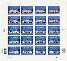 White House Stamp Sheet - Usa #3445 33 Cent 2000