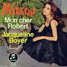 "7"" JACQUELINE BOYER Mitsou / Mon cher Robert CHRISTIAN BRUHN COLUMBIA orig. 1963"