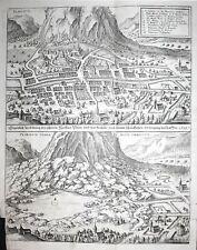 17. Jh. Piuro Chiavenna Sundrio Italia Italy Kupferstich engraving Merian