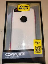 OtterBox Commuter Series Case for Apple iPhone 6/6S Plus - White/Pink