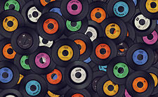 SUPERB RETRO VINYL RECORDS CANVAS #412 QUALITY CANVAS WALL ART PICTURE A1
