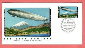 Marshall Islands; 1998 The 20th Century 1920-29  FDC