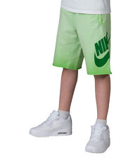 Nike Boys Alumni Green Washed Short Size Medium # 820671 313