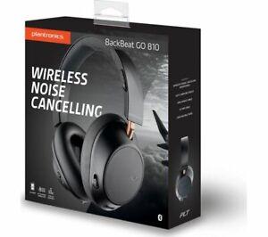 Plantronics BackBeat GO 810 Bluetooth Headphones Over-Ear Active Noise Canceling