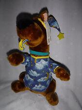 "Cartoon Network Scooby Doo Pajamas 13"" w/tag Plush Soft Toy Stuffed Animal"