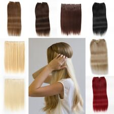 Hidden Halo Clip In 100% Remy Real Human Hair Extension FULL HEAD Brown Blonde