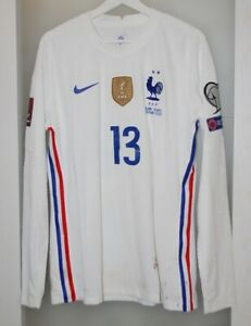 Match worn shirt France national team World cup 2022 Juventus Italy PSG unwashed