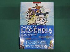 Tales of Legendia Official Complete Guide. PlayStation2. PS2. JAPAN BOOK. 44569