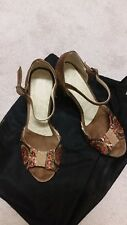 Argentine tango shoes Size 7 , handmade in Central America