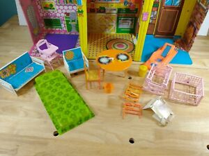 1973 Vintage Barbie Country Living Home Doll House With some Original Furniture