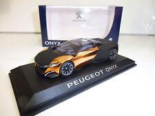 PEUGEOT ONYX Concept 1/43 NOREV Produit NEUF !