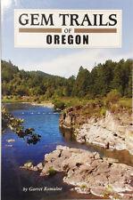 GEM TRAILS of OREGON book NEW Autographed Copy
