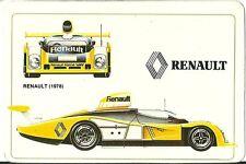 Carte Renault A 442 racing car course automobile Le Mans Sport Proto Trading car
