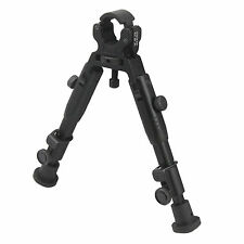 "CCOP USA 6"" Barrel Clamp On Mount Adjustable Tactical Rifle Bipod BP-39MINI"
