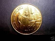 VATICANO Giovanni Paolo II 200 Lire 1991 FDC ( UNC)