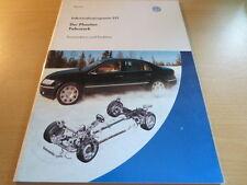 VW SSP Selbststudienprogramm Nr. 277 Der Phaeton Fahrwerk Lenkung Bremsen