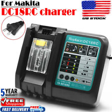 Dc18Rc Fast 14.4V-18V Battery Charger Bl1830 Bl1815 Lxt-400 For Makita Battery