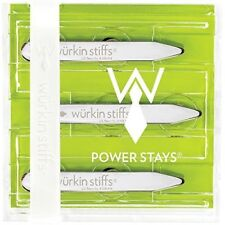 Würkin Wurkin Stiffs Power Stays - 2.5-inch (3 Pairs) Collar Stays, New