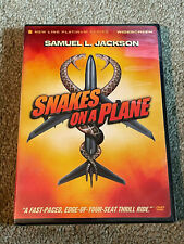 Snakes On A Plane Dvd (Widescreen) Samuel L Jackson Brand New & Sealed