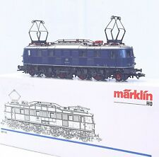 Marklin AC HO 1:87 German DB BR E-118 Blue ELECTRIC LOCOMOTIVE Metal! MIB`90!