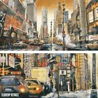 """54W""""x27H"""" CROSSROADS TIMES SQUARE by MATTHEW DANIELS -NEW YORK CHOICES of CANVAS"""