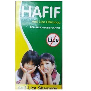 HAFIF Head Anti Lice shampoo PEDICULOSIS CAPITIS protection children kids 50 ml