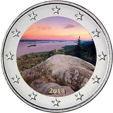 Finnland 2 Euro 2018 Nationallandschaft Koli Gedenkmünze bankfrisch in Farbe
