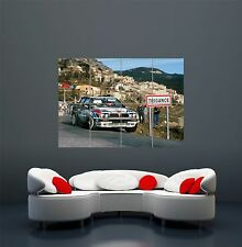 Lancia delta integrale rally voiture poster art print giant large WA065