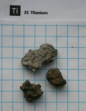 Titan metall Titanium metal 10 gram 99,9% pure element 22 sample