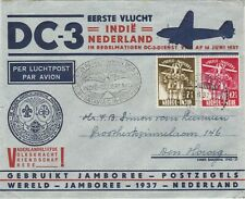 Netherlands Indies World Jamboree airmail cover Paree 1937