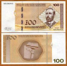 Bosnia-Herzegovina, 100 Marka, 2017 P-New, UNC > Kochig
