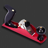 Iron Metal Bench Plane Low Angle Hand Planer Woodworking,Fully Adjustable Block