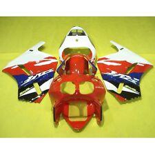 Red Hand Made ABS Fairing Bodywork Kit Fit For Honda RVF400R RVF 400 R NC35 1B