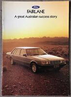 1983 Ford Fairlane original Australian sales brochure