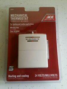 ACE Manual Thermostat 24v Heating Cooling #42351