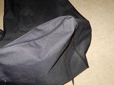 Equine Livestock Hay Bale Carry Bag Xl Heavy Nylon Travel Bag With Handles Black