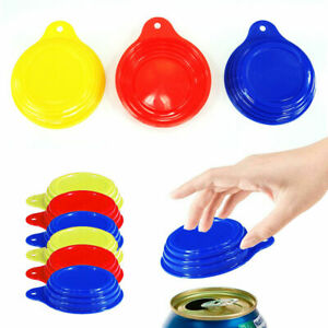6 Pack Soda Can Savers Reusable Pop Drink Covers Lid Protector Spill Free Bottle