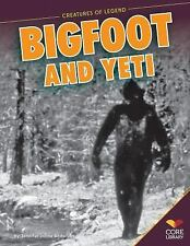 Bigfoot and Yeti (Creatures of Legend)-ExLibrary