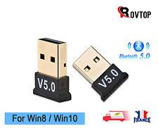 Bluetooth 5.0 Mini Clé USB Sans fil Adaptateur pour PC Portable Windows 8/10