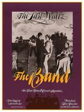 The Band  - POSTER - the Last Waltz  - Robbie Robertson Levon Helm Joni Mitchell