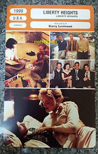 US Comedy Drama Liberty Heights Adrien Brody Ben Foster French Film Trade Card