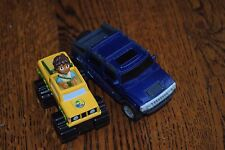 2007 Learning Curve Go Diego Safari Truck & 2006 Blue McD's Hydrogen Hummer Toy