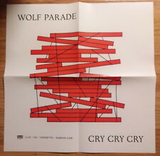 Music Poster Promo Wolf Parade Cry Cry Cry