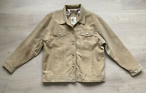 VTG Misty Harbor Suede Leather Jacket Heavy Tan Lined Sz XL Pocket