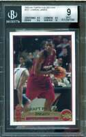 LeBron James Rookie Card 2003-04 Topps Collection #221 BGS 9 (9.5 8.5 9.5 10)