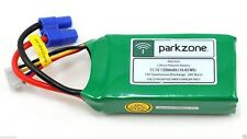 New P-51D BL PARKZONE 11.1V 1300mAh LiPo Battery with EC3 Connector #PKZ1033