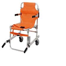 BARELLA SEDIA PORTANTINA EVACUAZIONE DISABILI 2 ruote alluminio PVC 118 ospedale
