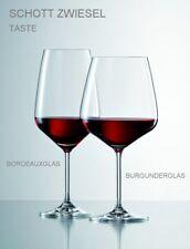 12 Rotweingläser SCHOTT ZWIESEL TASTE 8741 - je 6 Bordeaux- + 6 Burgundergläser