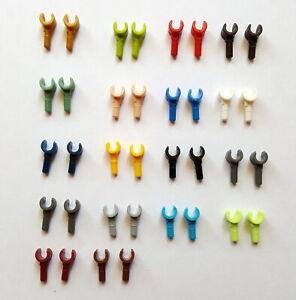 Lego 983 Hände Minifig Minifigur Zubehör 1 Paar viele Farben große Auswahl Hände